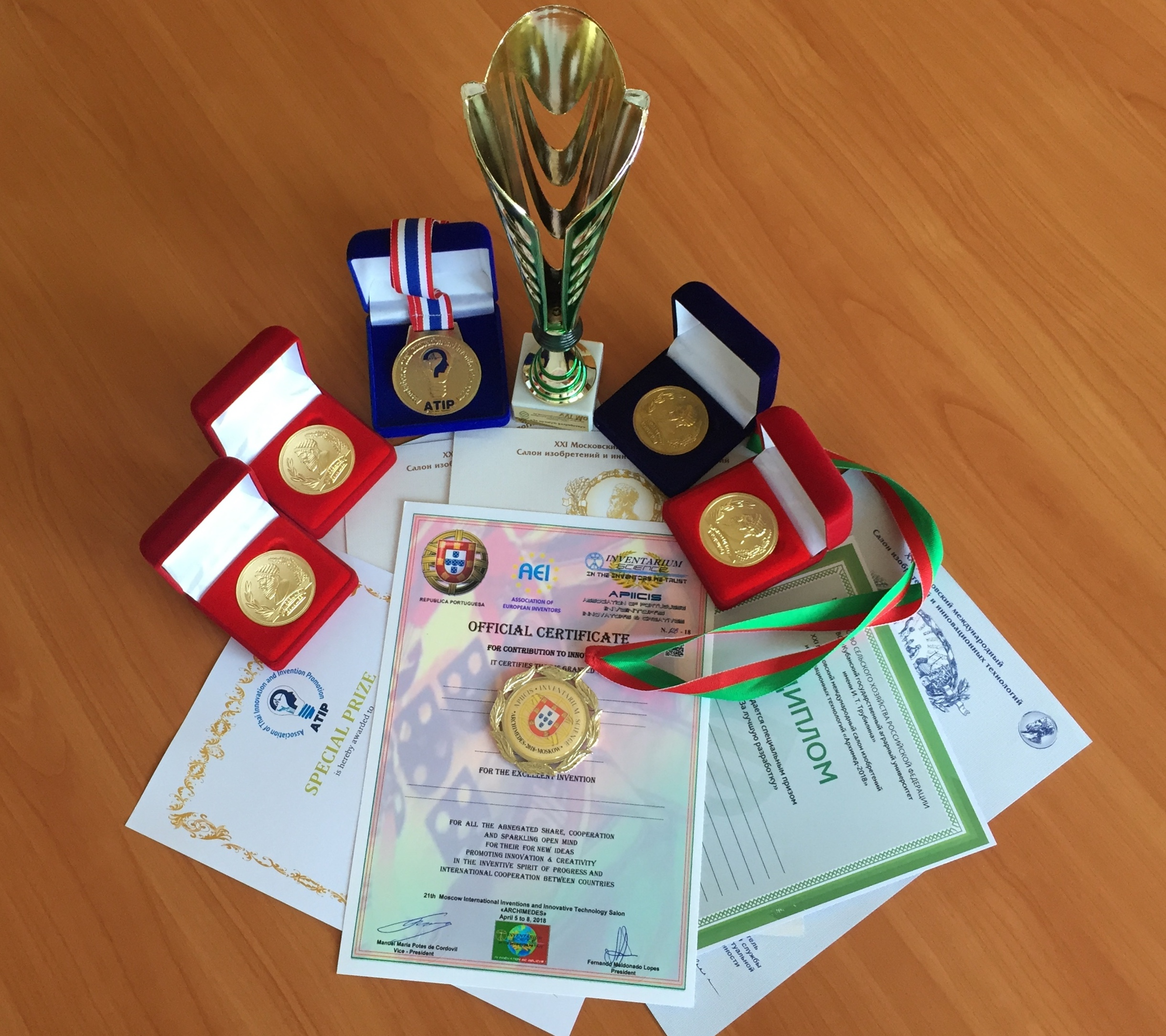 """NUST MISIS Receives Four Gold Medals at """"Archimedes-2018"""" Salon"""
